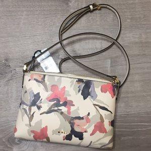 NWT Lauren by Ralph Lauren floral crossbody purse